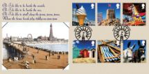 15.05.2007 Beside the Seaside Postcard from Blackpool Bradbury, Sovereign No.87