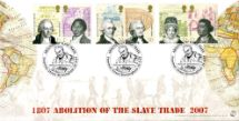 22.03.2007 Abolition of the Slave Trade Two Continents Bradbury, Sovereign No.85