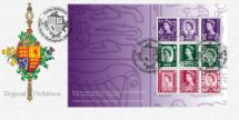 29.09.2008 PSB: Country Definitives - Pane 1 Heraldic Emblems Bradbury, BFDC No.30