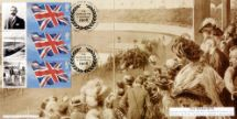 24.07.2008 Olympics [Commemorative Sheet] The 1908 Summer Olympics Bradbury, BFDC No.20