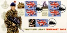 Territorial Army [Commemorative Sheet]