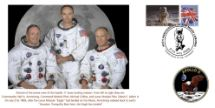 21.07.2009 Moon Landing [Commemorative Sheet] The Apollo 11 Crew Bradbury, BFDC No.63