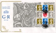 08.05.2010 PSB: Festival of Stamps KGV - Pane 4 GvR Crown Cotswold