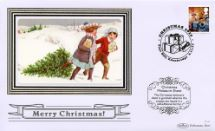 02.11.2010 Christmas 2010: Miniature Sheet Children with Christmas tree Benham, BSSP No.500