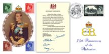 10.12.2011 Instrument of Abdication Edward VIII Bradbury, BFDC No.153