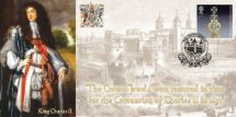 23.08.2011 The Crown Jewels King Charles II & Tower of London Bradbury, BFDC No.136