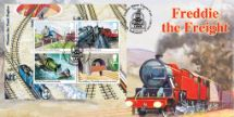 14.06.2011 Thomas the Tank Engine: Miniature Sheet Freddie the Freight Bradbury, BFDC No.117
