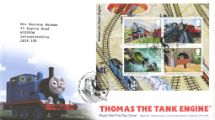 14.06.2011 Thomas the Tank Engine: Miniature Sheet Thomas the Tank Engine Royal Mail/Post Office