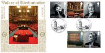 23.02.2012 Britons of Distinction Palace of Westminster Bradbury, BFDC No.168