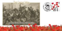 11.11.2012 The Great War Charge of the Ninth Lancers Bradbury, BFDC No.206