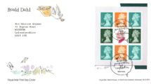 10.01.2012 PSB: Roald Dahl - Pane 1 Stork Royal Mail/Post Office
