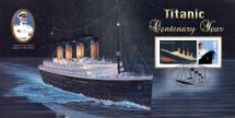 15.04.2012 Titanic Centenary The Last Sighting Bradbury, BFDC No.178