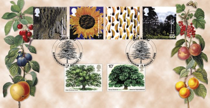 Tree & Leaf, Trees on Stamps