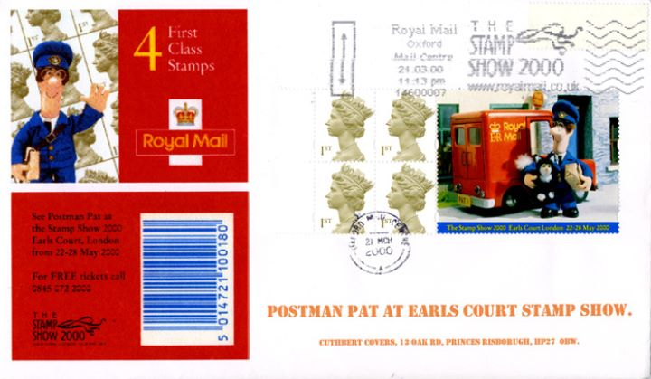 Window: Postman Pat, At Earls Court