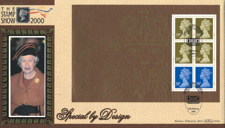 PSB: Special by Design - Pane 3, Stamp Show 2000
