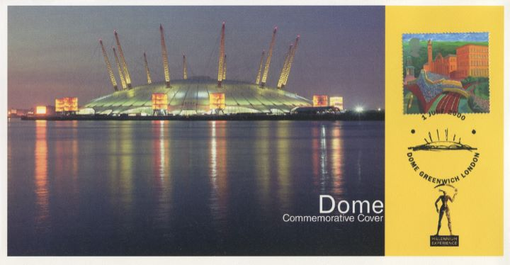 Commemorative Cover, Millennium Dome
