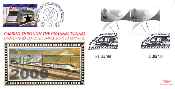 Channel Tunnel, Millennium Double Dated