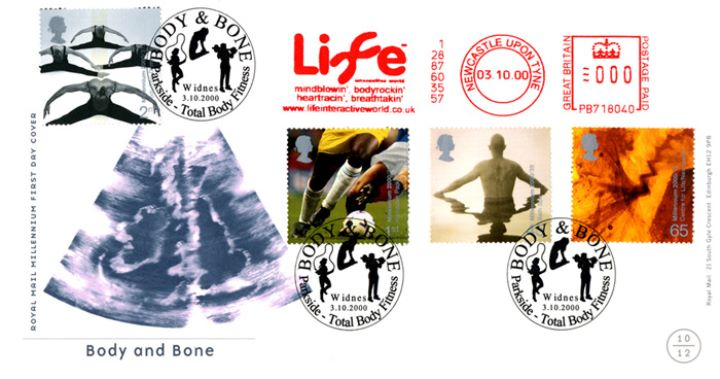 Body & Bone, Body Scan showing British Isles