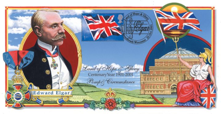 Flags & Ensigns: Miniature Sheet, Edward Elgar