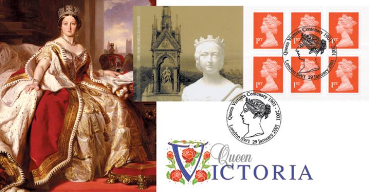 Self Adhesive: Queen Victoria, State Portrait
