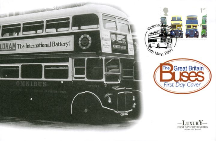 Double Decker Buses: Stamps, No.137 Norwood Garage