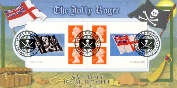 Self Adhesive: Flags & Ensigns, The Jolly Roger