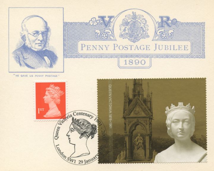 Self Adhesive: Queen Victoria, Penny Postage Jubilee