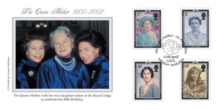 The Queen Mother - In Memoriam, The Royal Blue Trinity