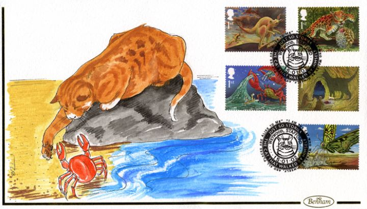 The Just So Stories, The Cat and the Crab