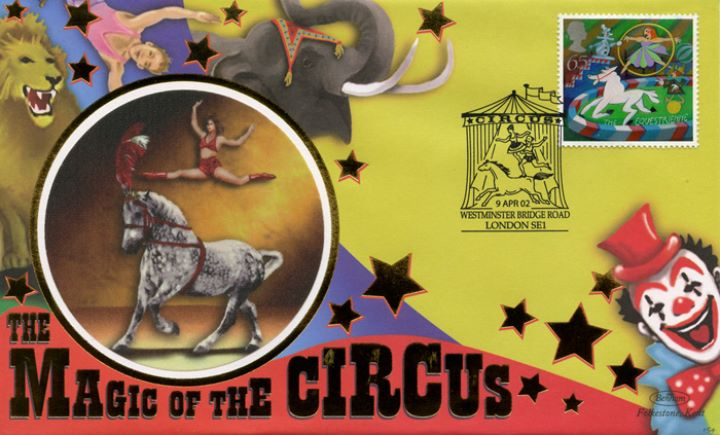 Circus, Acrobat and horse