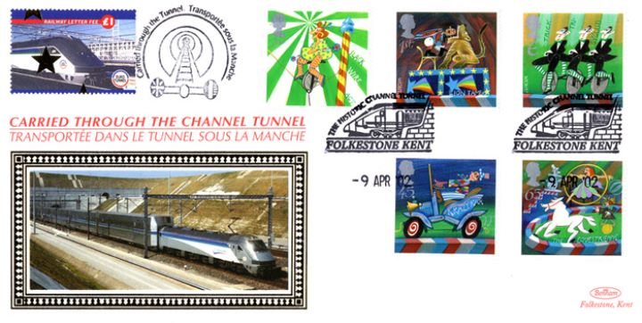 Circus, Historic Channel Tunnel