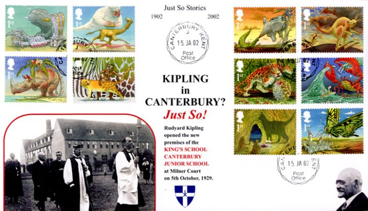 The Just So Stories, King's School Canterbury