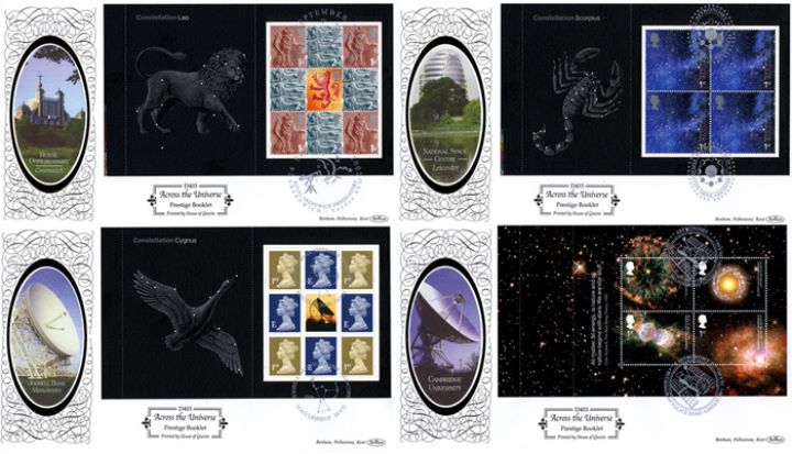 PSB: Astronomy, Observatories - Set of 4