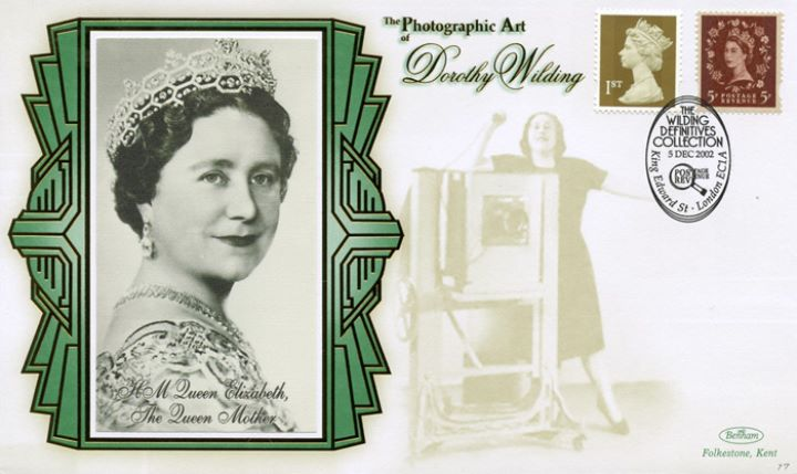 Wildings No.1: Miniature Sheet, The Queen Mother