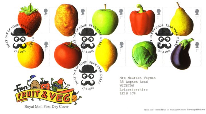 Fun Fruit and Veg, Fruit & Veg Characters