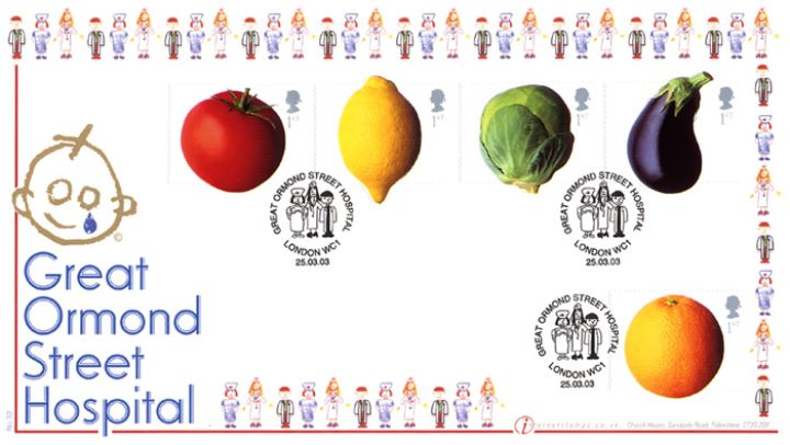 Fun Fruit and Veg, Great Ormond Street Hospital