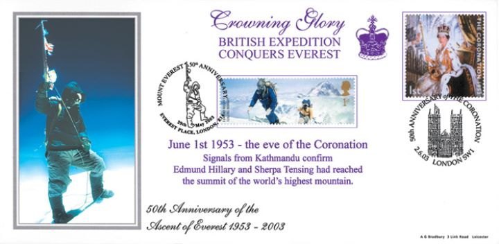 Everest 50th Anniversary, The Crowning Glory