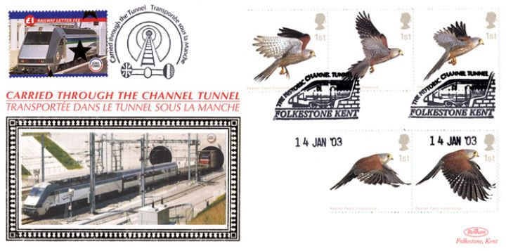Birds of Prey, Historic Channel Tunnel
