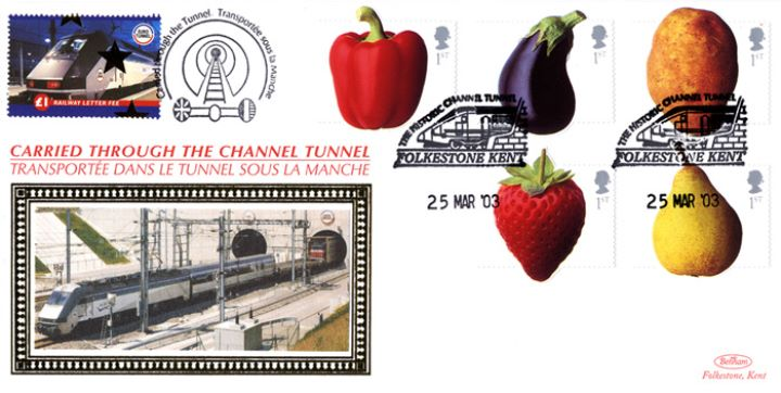 Fun Fruit and Veg, Historic Channel Tunnel