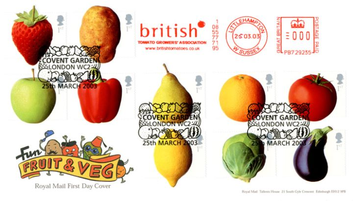 Fun Fruit and Veg, British Tomato Growers