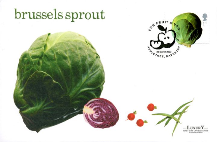 Fun Fruit and Veg, Brussels Sprout