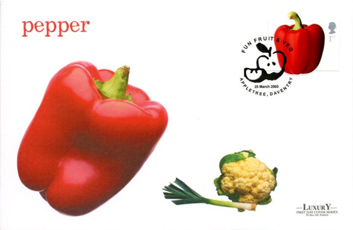 Fun Fruit and Veg, Red Pepper