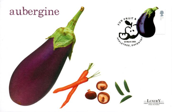 Fun Fruit and Veg, Aubergine