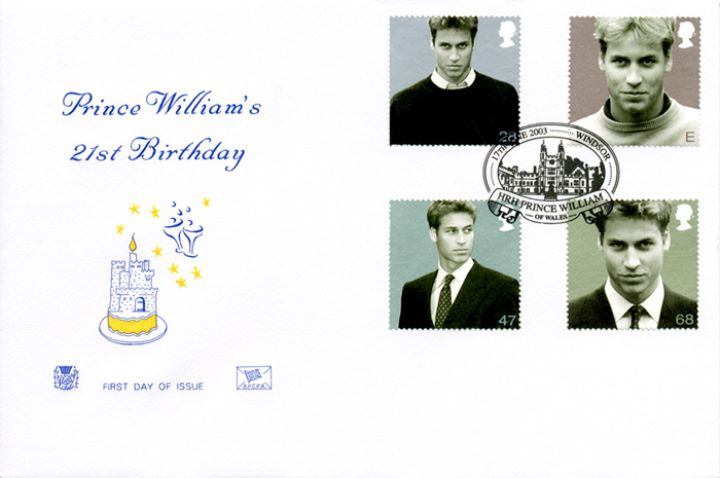 Prince William's 21st Birthday, Birthday Cake