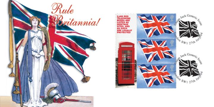 Britannia: Generic Sheet, The Red Telephone Box