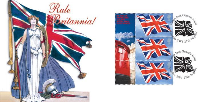 Britannia: Generic Sheet, The British Pillar Box