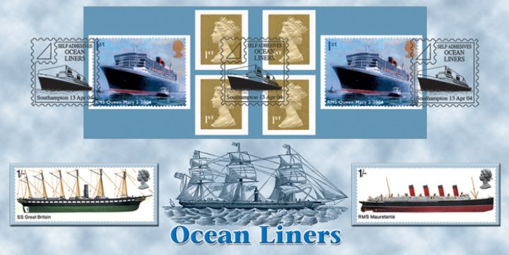 Self Adhesive: Ocean Liners, Sailing Ship