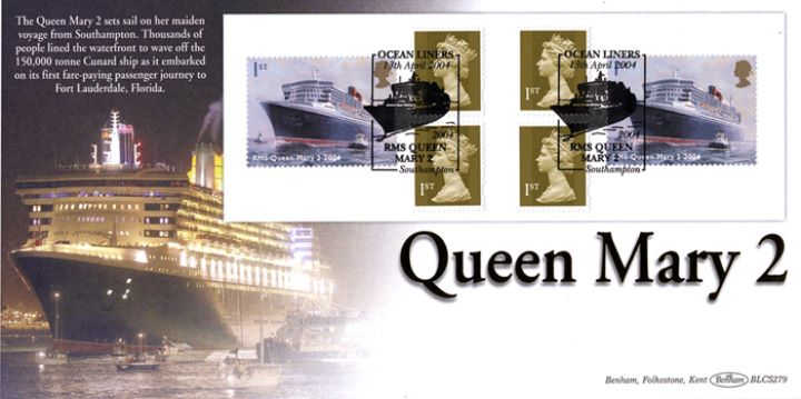 Self Adhesive: Ocean Liners, Queen Mary 2