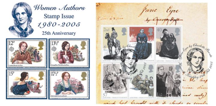 Jane Eyre: Miniature Sheet, Women Authors