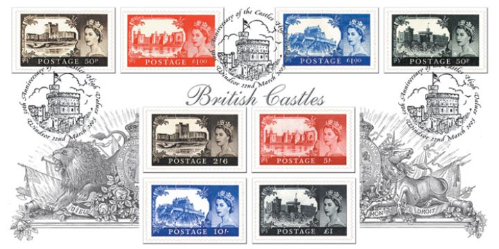 Castles: Miniature Sheet, British Castles 1955-2005